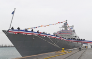 Lockheed-Built Indianapolis Littoral Combat Ship Joins Navy Fleet
