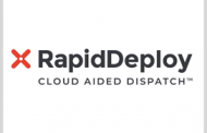 RapidDeploy Partners With Firms to Develop Public Safety Cloud Tech
