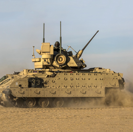 Raytheon-Rheinmetall JV, General Dynamics Bid for Army OMFV Combat Vehicle Program - top government contractors - best government contracting event