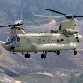 Boeing Eyes Testing of GE-Built Engine on Chinook Helicopters - top government contractors - best government contracting event