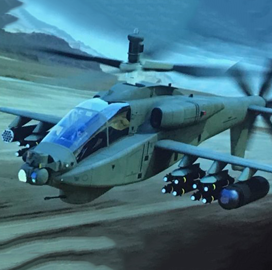 "Boeing Unveils ""˜Compound Apache' Helicopter Concept - top government contractors - best government contracting event"