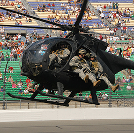 """Army to Receive Boeing """"˜Little Bird' Block 3.0 Helicopters; David Koopersmith Quoted - top government contractors - best government contracting event"""