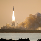 Lockheed's Orion Launch Abort System With Northrop-Built Booster Completes Second Flight Test - top government contractors - best government contracting event