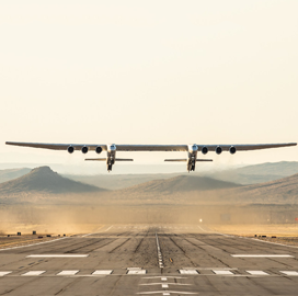 Stratolaunch Flies World's Largest Plane on Maiden Voyage; Jean Floyd Quoted - top government contractors - best government contracting event