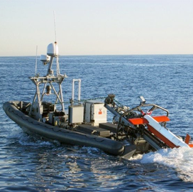 Northrop Concludes Underwater Demo for AQS-24 Mine Detecting Sonar