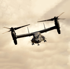 Bell-Boeing V-22 Osprey Aircraft Reaches 500K Mission Hours; Chris Gehler Quoted