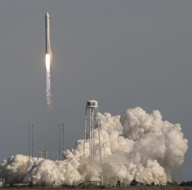 Northrop's Cygnus Spacecraft Sends NASA Research Payload to ISS for NG-12 Mission - top government contractors - best government contracting event