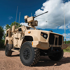 Oshkosh Eyes Global Sales of Joint Light Tactical Vehicle - top government contractors - best government contracting event