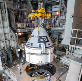 Boeing Starliner Spacecraft Shipped to Cape Canaveral for Test Launch - top government contractors - best government contracting event