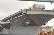 HII Shipbuilding Unit Incorporates Worker Suggestions Into Navy Carrier Construction Project