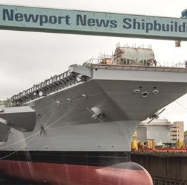 HII Shipbuilding Unit Incorporates Worker Suggestions Into Navy Carrier Construction Project - top government contractors - best government contracting event