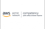BAE, ECS, Maxar Become AWS Public Safety & Disaster Response Competency Partners