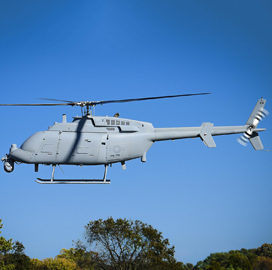 Northrop's MQ-8C Helicopter Reaches Navy Initial Operational Capability Designation - top government contractors - best government contracting event