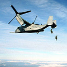 Marine Corps Receives Modified Osprey Aircraft from Boeing-Bell JV - top government contractors - best government contracting event