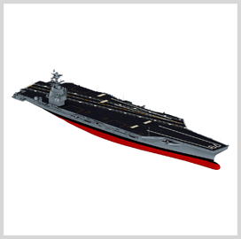 HII Transports John F. Kennedy Carrier for Outfitting, Testing - top government contractors - best government contracting event