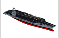HII Transports John F. Kennedy Carrier for Outfitting, Testing