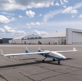 UAV Turbines Conducts First Flight of Monarch 5 UAV Microturbine Engine - top government contractors - best government contracting event
