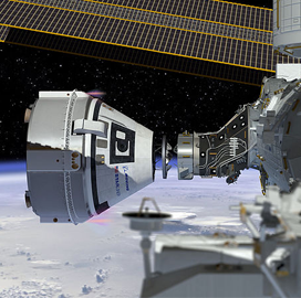 Boeing, NASA Prep Starliner Vehicle After Disrupted Test Flight to ISS - top government contractors - best government contracting event