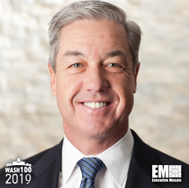 Jerry DeMuro, BAE US CEO, Inducted Into 2019 Wash100 for Leading and Delivering Sustainable Value - top government contractors - best government contracting event