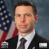 Kevin McAleenan, Commissioner of U.S. Customs and Border Protection, Inducted Into 2019 Wash100 for Developing Counterterrorism Strategies and Supporting Border Security Efforts - top government contractors - best government contracting event