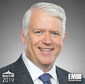 Rick Ambrose, Lockheed Space Systems EVP, Named to 2019 Wash100 for Space Technology Push, Cloud Adoption for Space Missions - top government contractors - best government contracting event