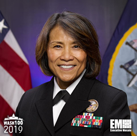 Vice Adm. Raquel Bono, DHA Director, Named to 2019 Wash100 for Leading Effort to Improve Health Services - top government contractors - best government contracting event