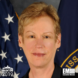 Betty Sapp, Director of National Reconnaissance Office, Inducted Into 2019 Wash100 for Managing NRO Operations, Acquisition Efforts & Advancing Space Intelligence Data - top government contractors - best government contracting event