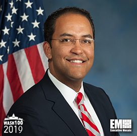 Rep. Will Hurd Inducted to 2019 Wash100 for Helping Strengthen U.S. National Security - top government contractors - best government contracting event
