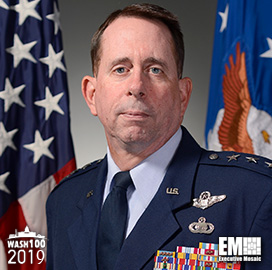 Lt. Gen. Jack Shanahan, Director of Pentagon's Joint Artificial Intelligence Center, Inducted Into 2019 Wash100 for Military AI Tech Adoption Leadership - top government contractors - best government contracting event