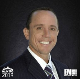 Mark Sopp, EVP and CFO of KBR, Inducted Into 2019 Wash100 for Generating Financial Success and Expanding Into Space Business - top government contractors - best government contracting event