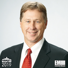 John Vollmer, AECOM Management Services Group President, Inducted Into 2019 Wash100 for Securing Major Contracts and Supporting Growth - top government contractors - best government contracting event