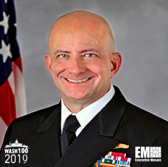 Vice Adm. Robert Sharp, NGA Director, Inducted Into 2019 Wash100 for His Technological Capability Advancement Vision - top government contractors - best government contracting event