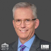 Jim Reagan, EVP & CFO of Leidos, Added to 2019 Wash100 for Driving Financial Operations and Value - top government contractors - best government contracting event