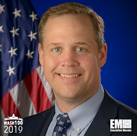 Jim Bridenstine, Administrator of NASA, Inducted Into 2019 Wash100 for Leading Space Exploration, Weather Forecasting Research and the Security of U.S. Satellites - top government contractors - best government contracting event