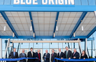 Blue Origin Unveils New Rocket Engine Factory in Alabama