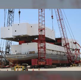VT Halter Marine Lands Navy Option to Design, Build Fourth Berthing Barge - top government contractors - best government contracting event
