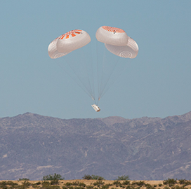 SpaceX Concludes Parachute System Testing for Crew Dragon's Flight to ISS