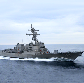 hii-shipbuilding-arm-transfers-delbert-d-black-destroyer-to-navy