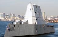 Navy Receives USS Zumwalt Destroyer