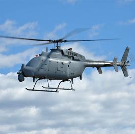 ExecutiveBiz - Navy, Northrop Demo AN/ZPY-8 Radar on MQ-8C Aircraft