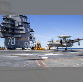 General Atomics Business Secures Engineering, Maintenance Contract for USS Ford Systems; Scott Forney Quoted - top government contractors - best government contracting event