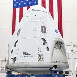 SpaceX's Demo-2 Crewed Mission Gets OK for Wednesday Launch - top government contractors - best government contracting event