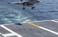 General Atomics-Built Launch, Recovery Systems Hit Performance Milestone on Navy Aircraft Carrier