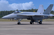 Navy Flight Demo Squadron Receives First Boeing Super Hornet Aircraft