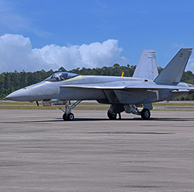 Navy Flight Demo Squadron Receives First Boeing Super Hornet Aircraft - top government contractors - best government contracting event