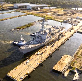 HII Reopens Pier Facility on Pascagoula River East Bank - top government contractors - best government contracting event