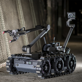 Army, Navy Order FLIR-Built Robots for Explosive Ordnance Disposal - top government contractors - best government contracting event