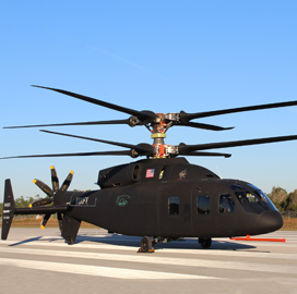 Boeing-Sikorsky Team Marks New Speed Record for 'Defiant' Helicopter - top government contractors - best government contracting event