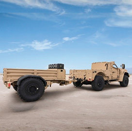 Army Orders JLTV Trailers From Oshkosh Defense - top government contractors - best government contracting event