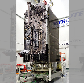 SpaceX to Launch Third Lockheed-Built GPS III Satellite Tuesday - top government contractors - best government contracting event